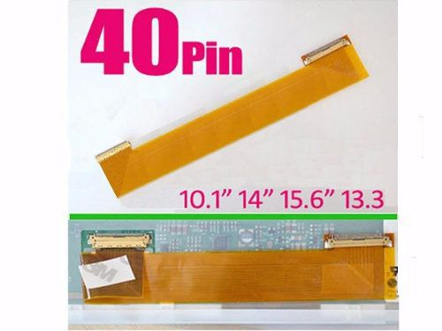 Cabo Extensor Do Cabo Flat Para Notebooks Led 40pin - EASY HELP NOTE