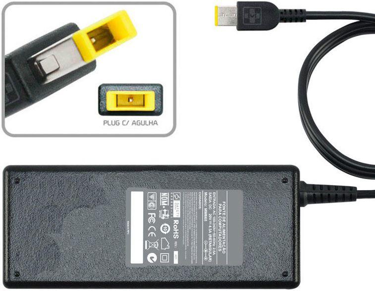 Fonte Carregador P/ Ibm Lenovo Yoga2 Pro, M490sa-ith/itw 20v 90W MM 668 - EASY HELP NOTE