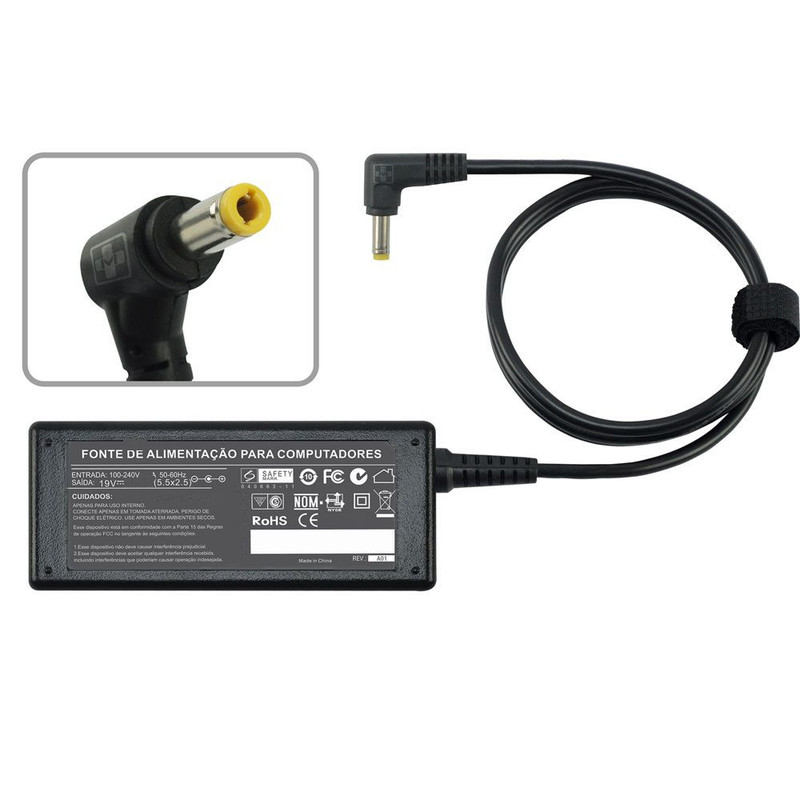 Fonte Carregador Para Cce Ultra Thin S345 19v 2.1a 40w 670 - EASY HELP NOTE