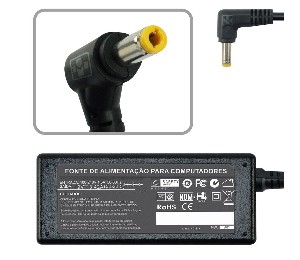 Fonte Carregador Para Cce Ultra Thin T345 19v 2.1a 40w 670 - EASY HELP NOTE