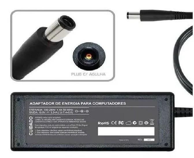 Fonte Carregador Para Dell Inspiron  E1405, E1505 65W 395 - EASY HELP NOTE