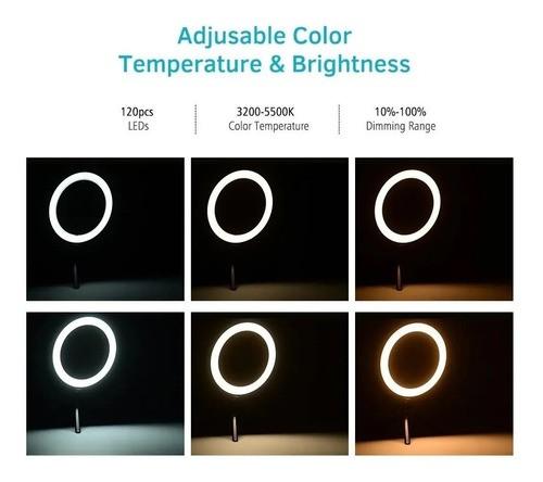 Luz De Preenchimento Ao Vivo Anel De Luz Led 6 Pol Ring Ligh - EASY HELP NOTE