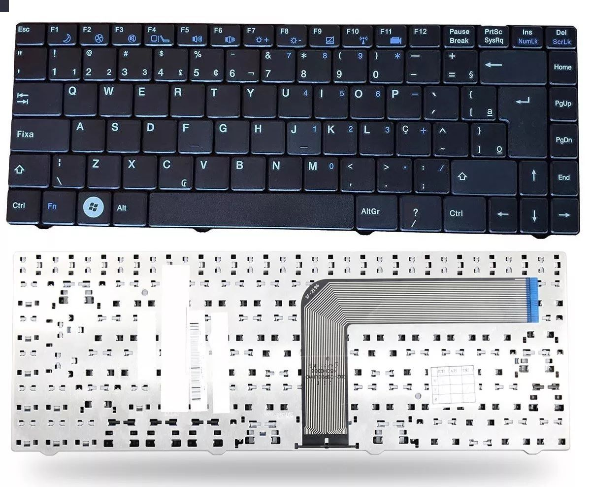 Teclado Positivo Kennex 220 240 250 655 At5 Mp-09p88pa-f515 - EASY HELP NOTE