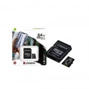 CARTÃO MEMÓRIA 64GB CANVAS KINGSTON SDCS2/64GB