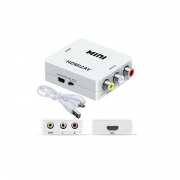 CONVERSOR MINI HD VIDEO 1080P x RCA HDMI2AV