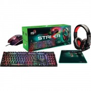 KIT TECLADO + MOUSE + MOUSE PAD + HEADSET GAMER ELG CGSR41