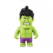 PEN DRIVE 8GB MARVEL HULK MULTILASER - PD082