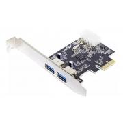 PLACA PCIe USB 3.0 2P FEASSO FPU-03