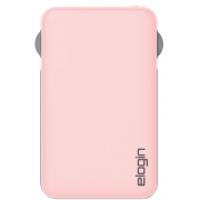 POWER BANK 5000mAh ELOGIN C/CABO PB10 2.1A ROSA