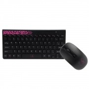 TECLADO & MOUSE WIRELESS FREESTYLE SERIES ROSA MAXPRINT