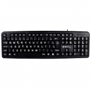 TECLADO USB WIRED HOOPSON TPC-058G