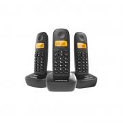TELFONE S/FIO DIGITAL C/ 2 RAMAIS INTELBRAS TS2513 PRETO
