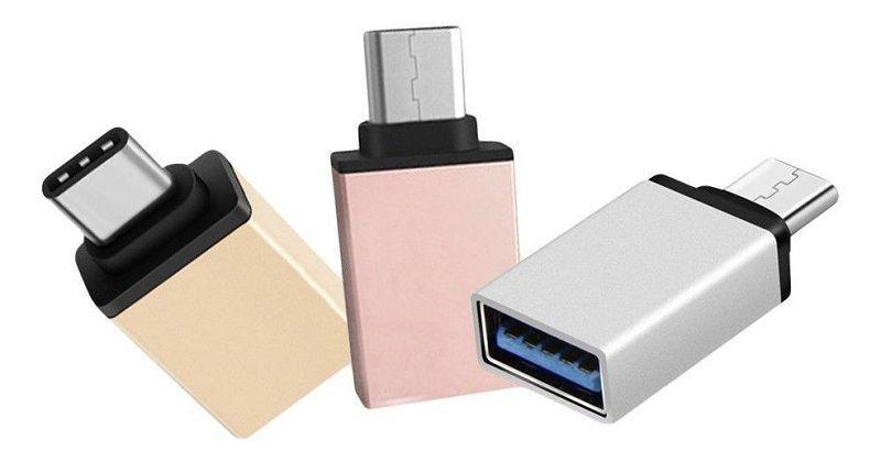 ADAPTADOR OTG X USB FASHION IRM-01031  - TELLNET