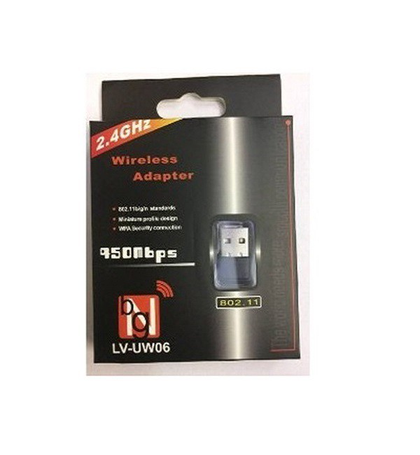 ADAPTADOR USB WIRELESS N450 LV-UW06  - TELLNET