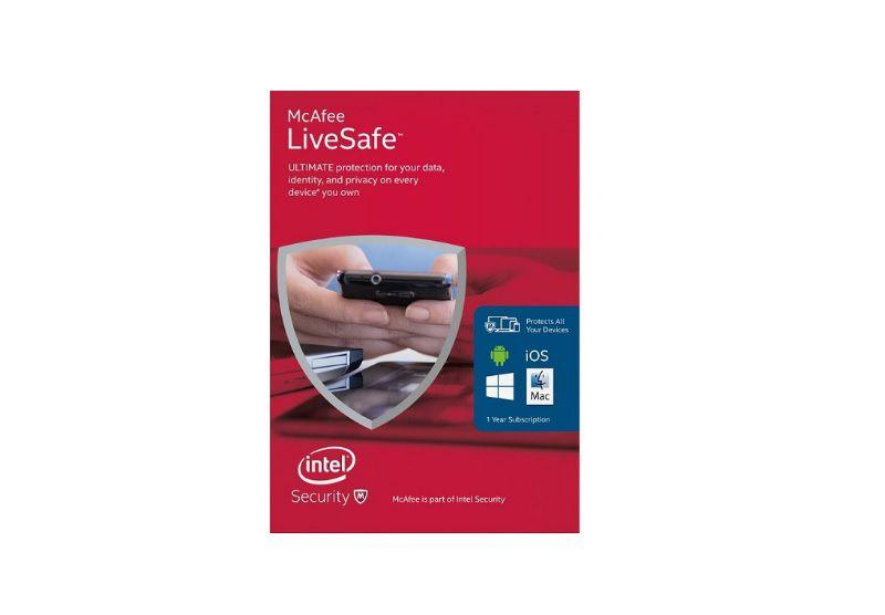 ANTI VIRUS MCAFEE LIVE SAFE  - TELLNET