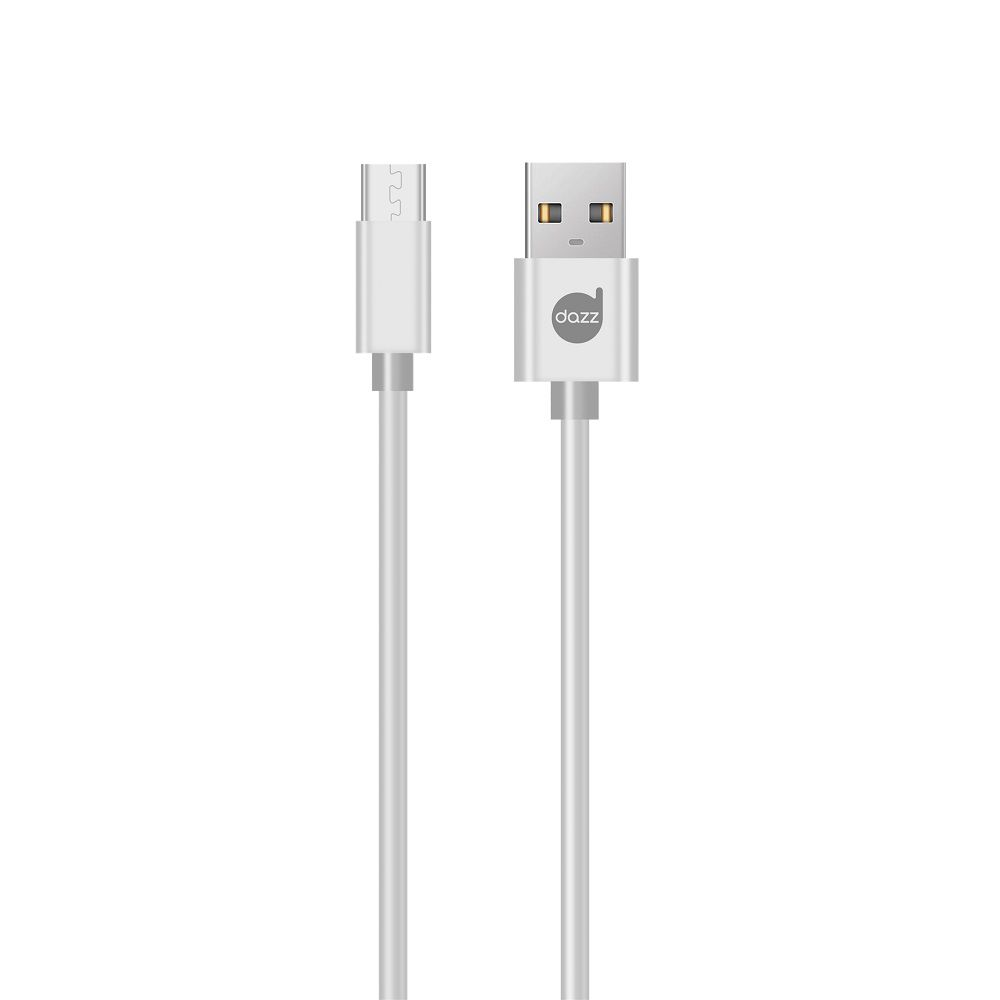 CABO MICRO USB POWER DAZZ 2A BRANCO  - TELLNET