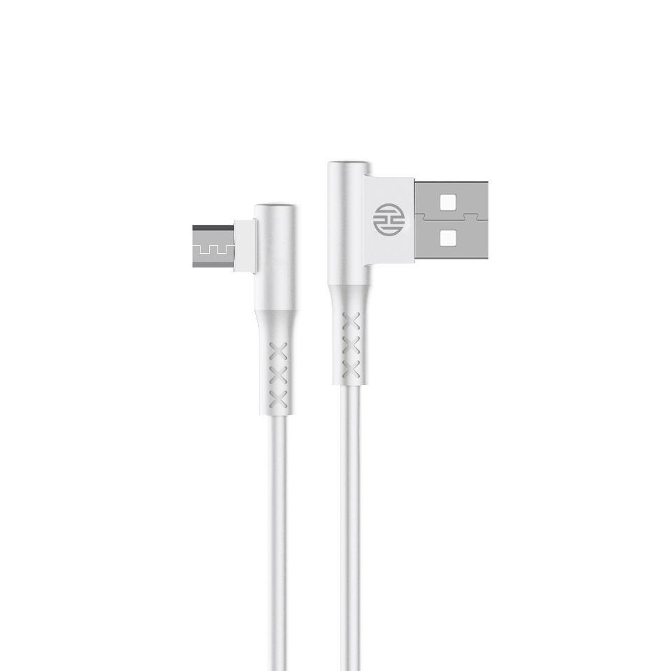 CABO USB X MICRO USB 2.1A HOOPSON CH-11 1,2M BRANCO  - TELLNET