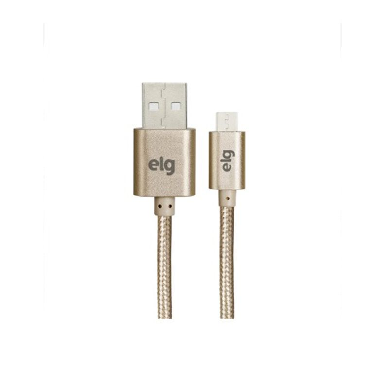 CABO USB X MICRO USB NYLON ELG M510BG GOLD 1M  - TELLNET