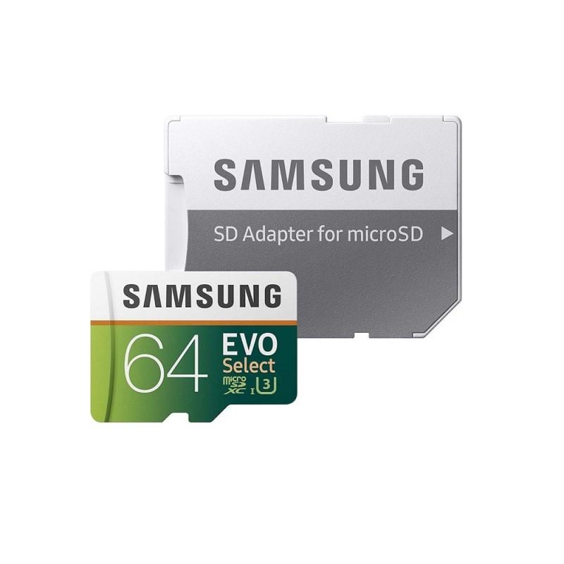 CARTÃO MEMÓRIA 64GB EVO SAMSUNG MB-ME64HA/AM  - TELLNET