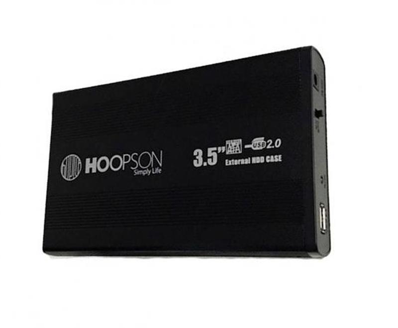 """CASE HD 3,5"""" HOOPSON CHD-003 PRETA  - TELLNET"""