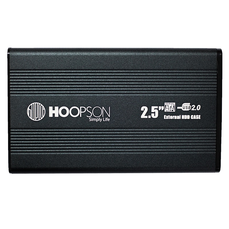 "CASE P/HD 2,5"" HOOPSON CHD-001 PRETA  - TELLNET"