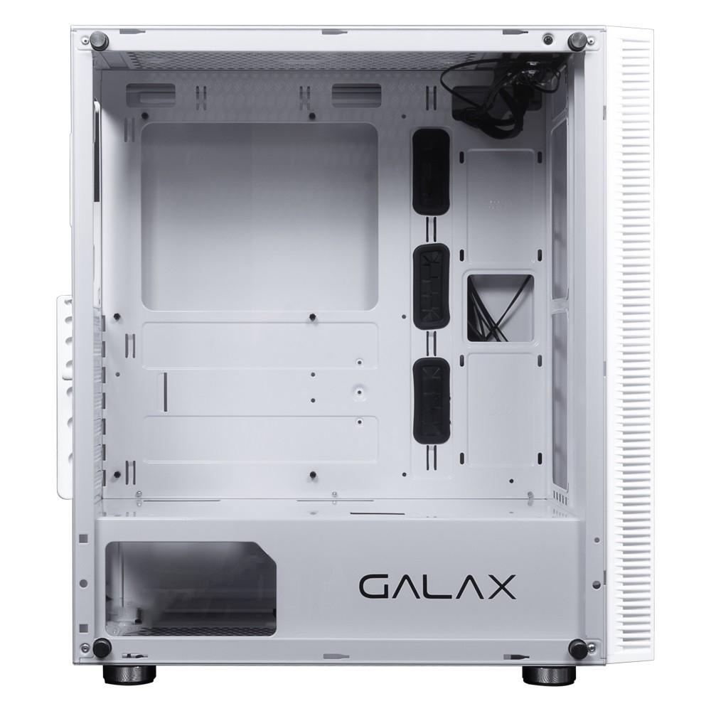 GABINETE GAMER GALAX QUASAR BRANCO GX600-WH  - TELLNET