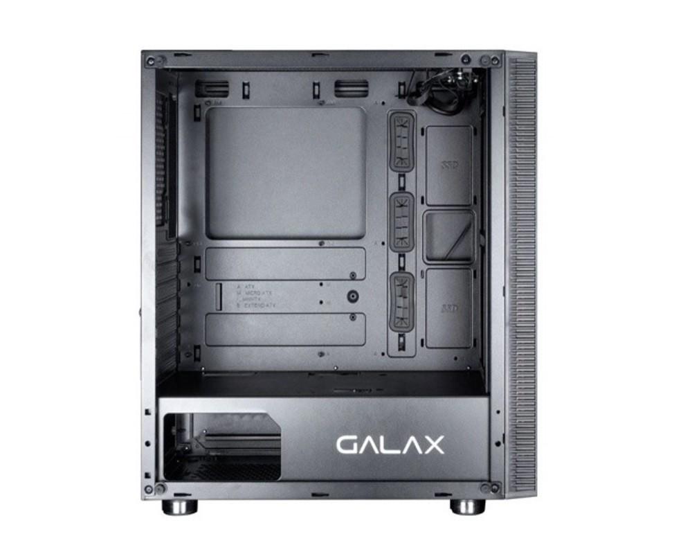 GABINETE GAMER GALAX QUASAR PRETO GX600  - TELLNET