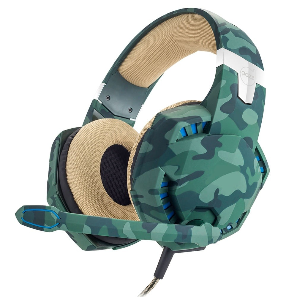HEADSET GAMER SPECIAL FORCES COLORS JUNGLE 3 P3 DAZZ  - TELLNET
