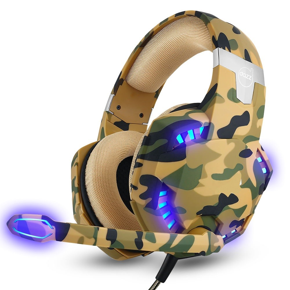 HEADSET GAMER SPECIAL FORCES COLORS SERIES DESERT P3 DAZZ  - TELLNET