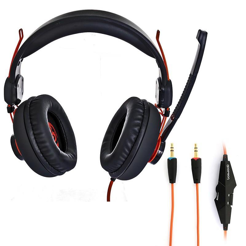 HEADSET P2 GAMER HOOPSON GA-X3 PRETO 2,4M  - TELLNET