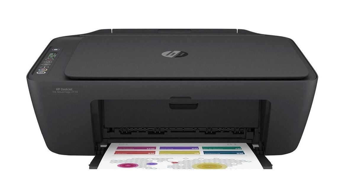 IMPRESSORA HP INK ADVANTAGE COLOR 2774 C/BLUETOOTH E WIFI PRETA  - TELLNET