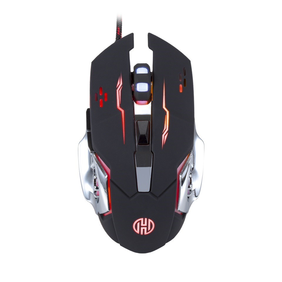 MOUSE GAMER USB RGB GALAXY HOOPSON GT1100 1,7M  - TELLNET