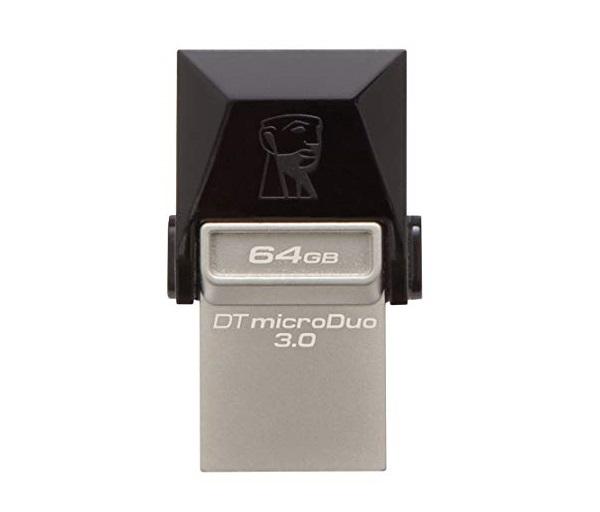PEN DRIVE 64GB KINGSTON OTG USB 3.0 DTDUO03/64GB  - TELLNET