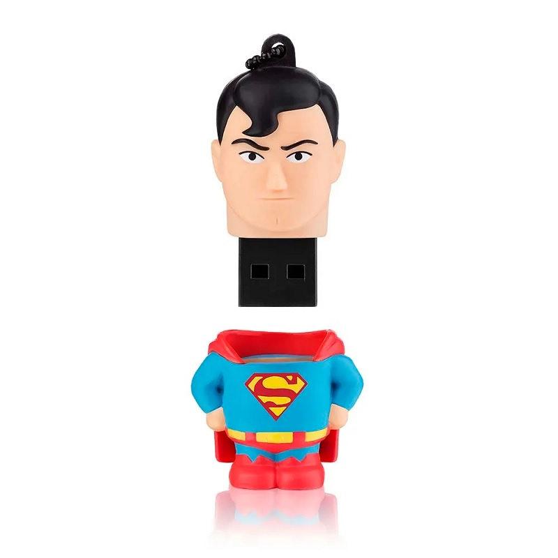 PEN DRIVE 8GB DC SUPERMAN MULTILASER - PD086  - TELLNET