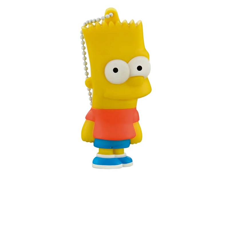 PEN DRIVE 8GB SIMPSONS BART MULTILASER - PD071  - TELLNET