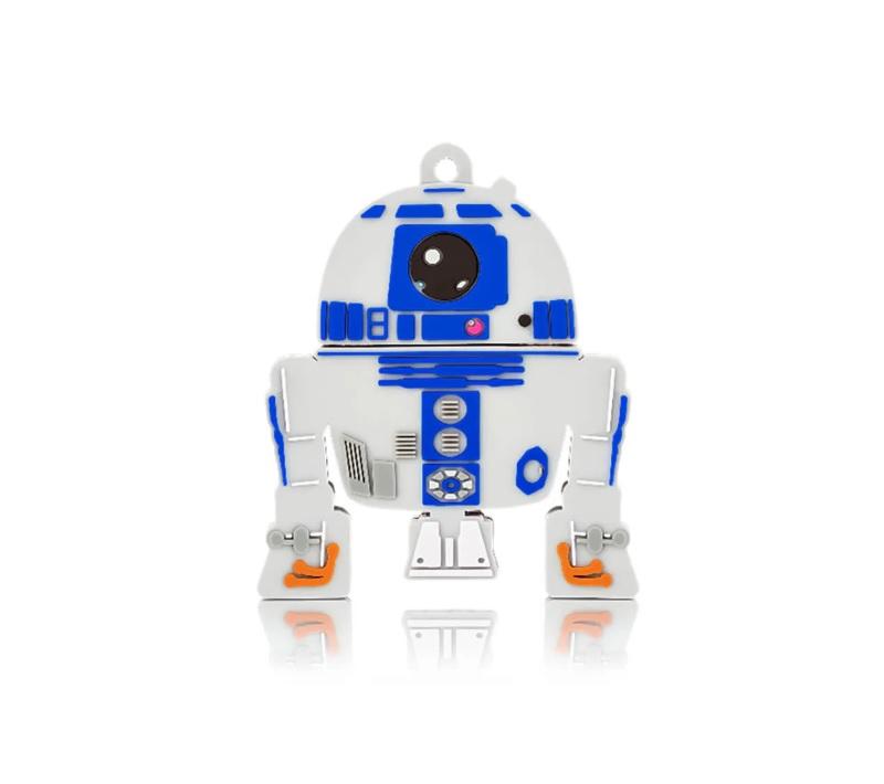 PEN DRIVE 8GB STAR WARS R2-D2 MULTILASER - PD-036  - TELLNET
