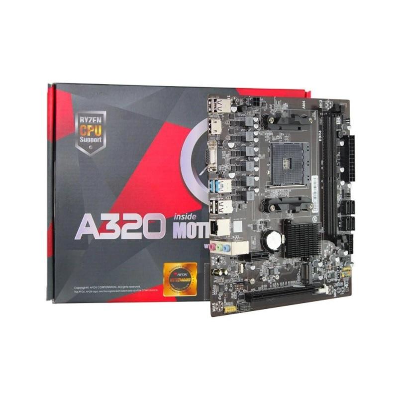 PLACA MAE A320-MA-V2 AFOX AM4 DDR4  - TELLNET