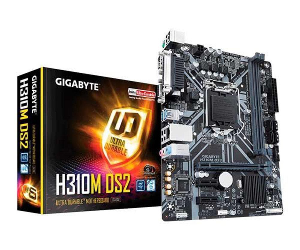 PLACA MAE GIGABYTE H310M DS2 LGA 1151 DDR4 - 8ª/9ª GERAÇÃO  - TELLNET
