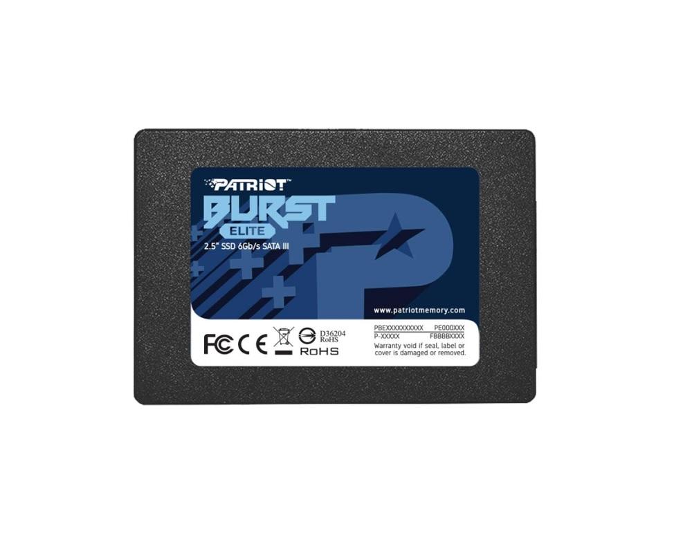 SSD 120GB PATRIOT PE000775-PBE120GS25SSDR  - TELLNET