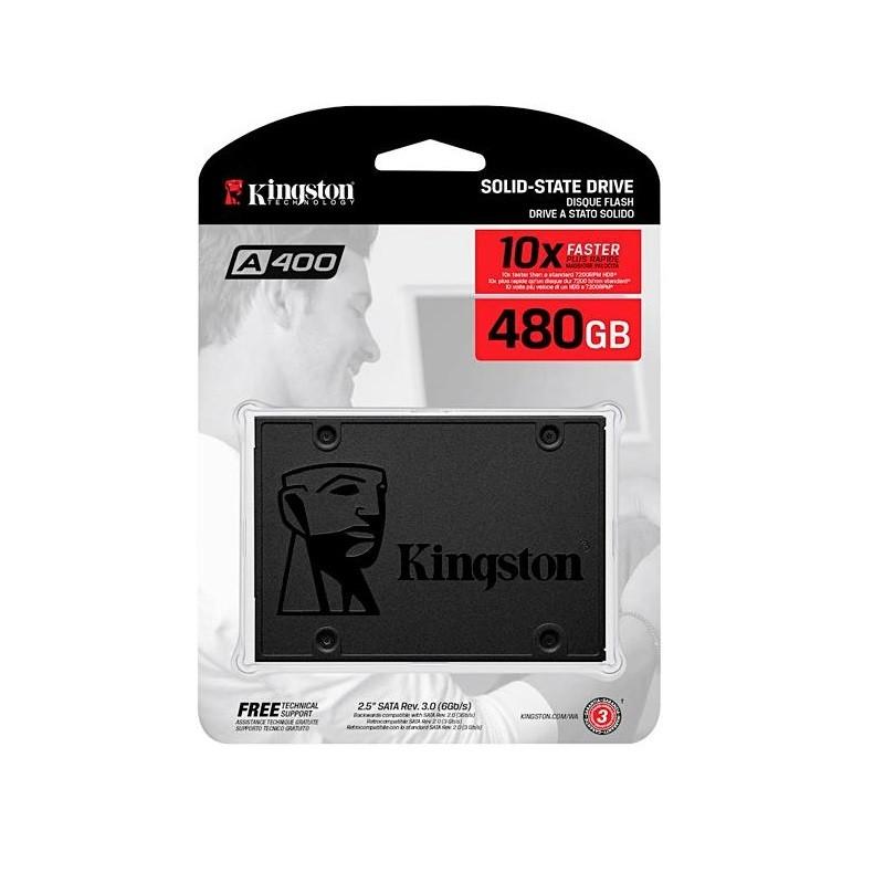 SSD 480GB KINGSTON SA400S37/480GB  - TELLNET