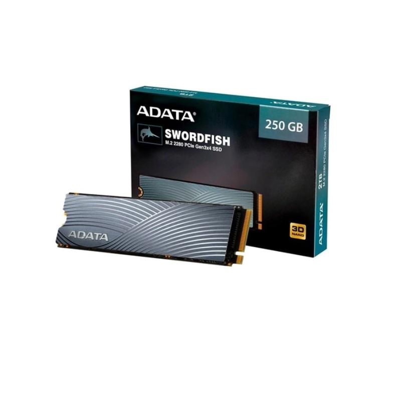 SSD M2 250GB ADATA SWORDFISH 2280 PCIe ASWORDFISH-250G-C  - TELLNET