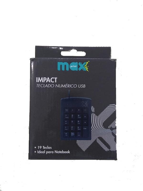 TECLADO NUMÉRICO USB IMPACT MAXPRINT 1,5M  - TELLNET
