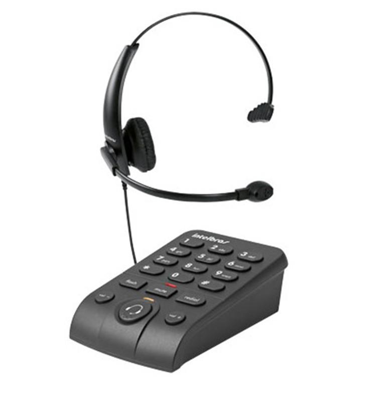 TELEFONE HEADSET INTELBRAS HSB 50  - TELLNET