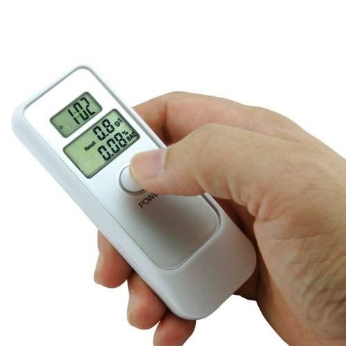 Bafometro Digital LCD C/ Relogio Alarme e Termometro+ Brinde