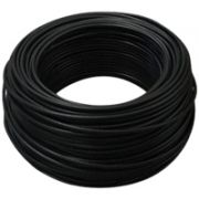 Cabo Cabletech RGE-59 67% Coaxial Preto 100 MTS.