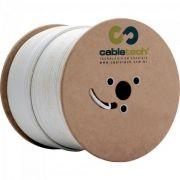 Coaxial RGE 59 67% Branco Bobina 305M Cabletech (78988414702756)
