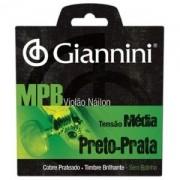 Encordoamento para Violao GENWBS Serie MPB NYLON Medio Giannini