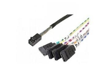 Cabo Server INTEL AXXCBL450HD7S Cabo Adaptador SAS Raid MINI-SAS SFF8643 para SATA