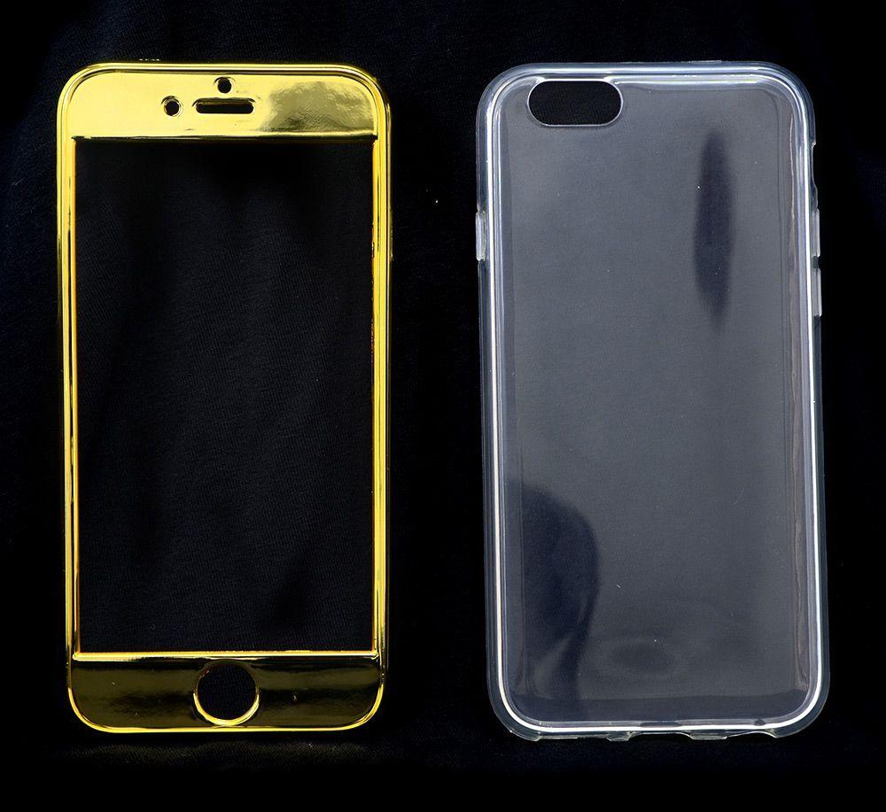 100 Capas Dourada Iphone 6 6S Super Proteção Linda Atacado