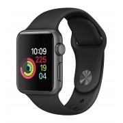 Apple Watch Series 2 42mm Space Gray Aluminum Sport Band Black